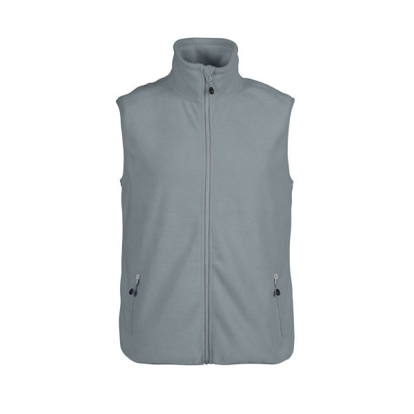 PRINTER SIDEFLIP FLEECE VEST 4