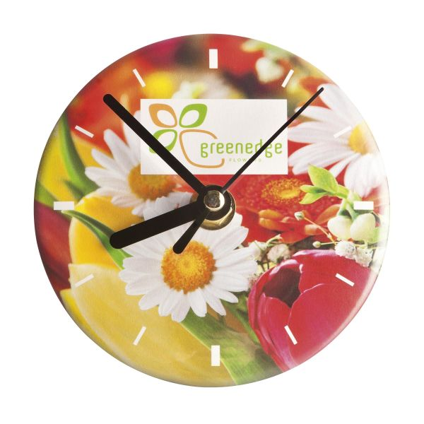 ButtonClock - Full colour opdruk