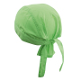 Bandana Hat One Size Lime Green