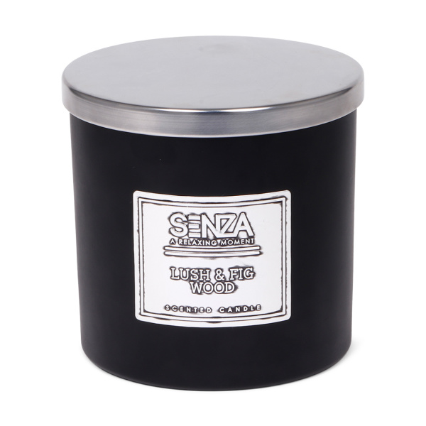 SENZA Scented candle Lush Figwood Large
