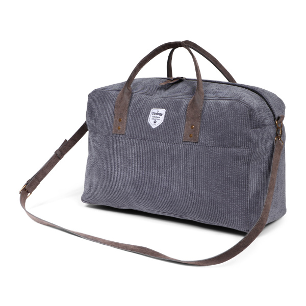 Vintage Ribble Weekend Bag Icegrey