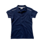 Backhand Ladies` Polo S Navy/White
