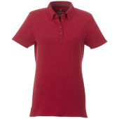 Atkinson button-down dames polo met korte mouwen - Rood - M