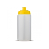 Sportbidon Basic 500ml transparant geel