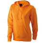 Ladies' Hooded Sweat oranje