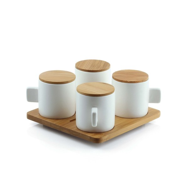 Bamboeset Coffee for 4