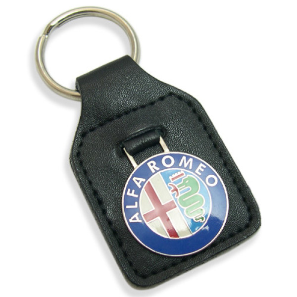Alfa Romeo Leather Keyfobs