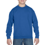 Gildan Sweater Crewneck HeavyBlend for kids royal blue M