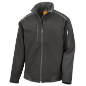 Ripstop softshell workwear jacket with cordura®