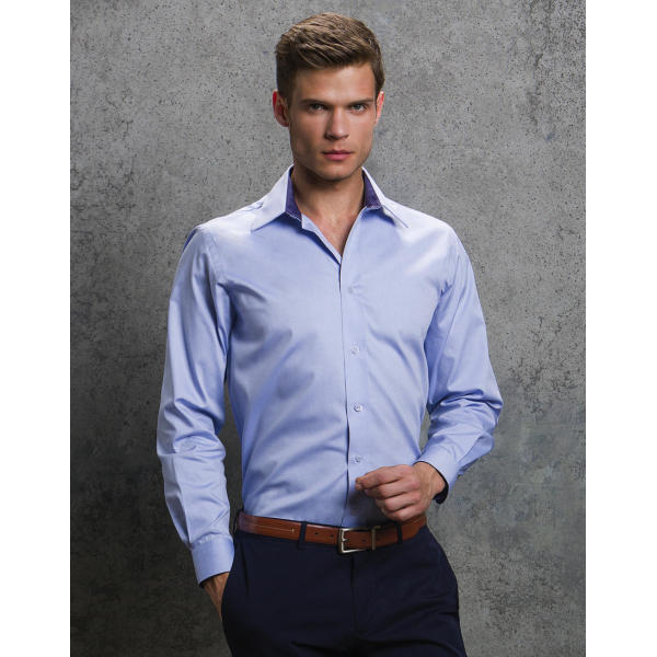 Tailored Fit Premium Contrast Oxford Shirt