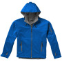 Match softshell heren jas - Sky blue - M