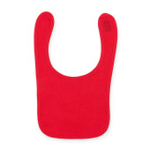 Bib red one size