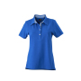 Ladies' Plain Polo royal/royal-wit