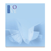 68 mm x 75 mm 25 Sheet Adhesive Notepads ECO Recycled paper