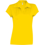 Damessportpolo true yellow xl