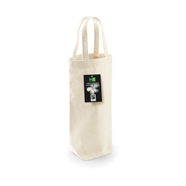 Fairtrade Cotton Bottle Bag