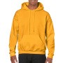 Gildan Sweater Hooded HeavyBlend for him Gold S