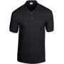 Dryblend classic fit youth jersey polo black '7/8 (m)