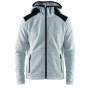 Craft Noble hood fleece men grey melange xxl