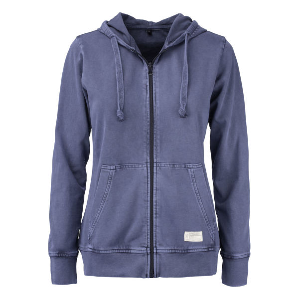 Cutter & Buck Thorp Denim Hood Fz Ladies