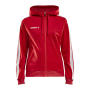 Craft Pro Control hood jacket wmn br.red/white xxl