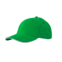 6 Panel Sandwich Cap varengroen/wit