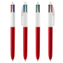 4 Colours ballpen LP rojo(185)_UP&RI white