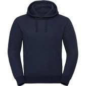 Authentic hooded melange sweatshirt indigo melange s