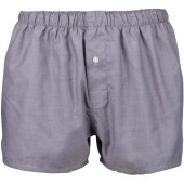 Boxer shorts oxford silver s