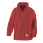 Junior Active Fleece Top M (8-10) Red