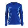 Craft Squad solid jersey LS wmn club cobolt m