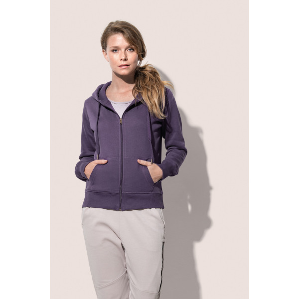 Stedman Sweater Hooded Zip for her