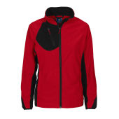 2326 fleecejacket lady red XS