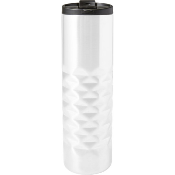 RVS dubbelwandige thermosbeker diamant (460 ml)