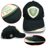 6-Panel Baseball Cap with Silicone Label