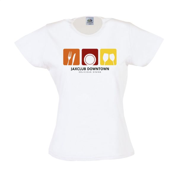 Fruit Valueweight T-shirt dames