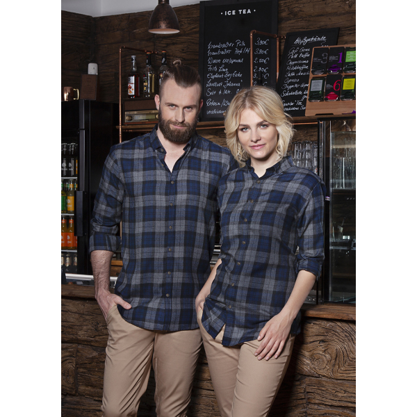 Men's Checked Shirt Urban-Style