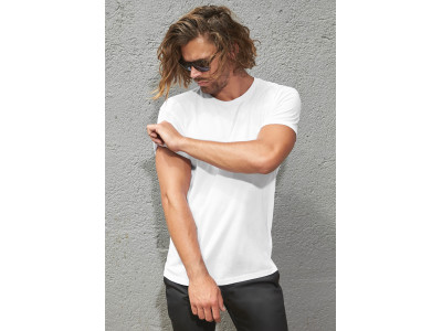 Organic cotton crew neck t-shirt