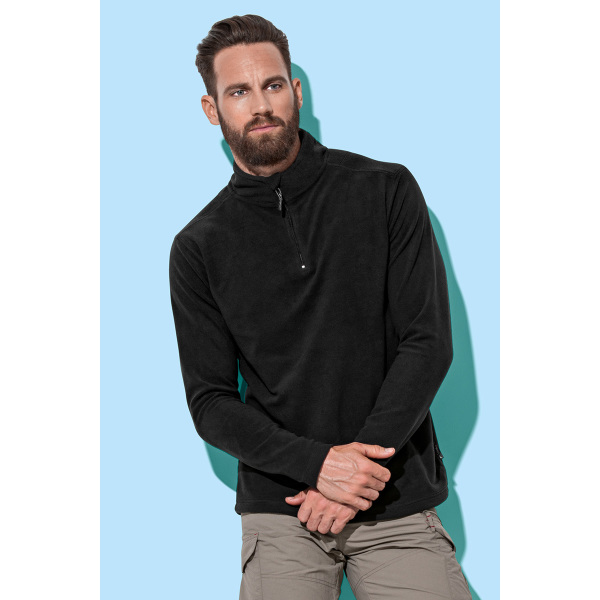 Stedman Polar Fleece Half Zip Active
