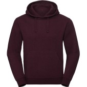 Authentic hooded melange sweatshirt burgundy melange s