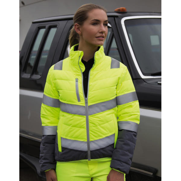 Women's Soft Padded Safety Jacket