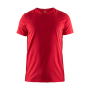 Craft Deft 2.0 tee men bright red 4xl