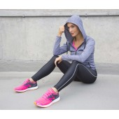 Womens hooded tee-jacket
