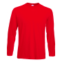 Valueweight Longsleeve T, Red, 3XL, FOL