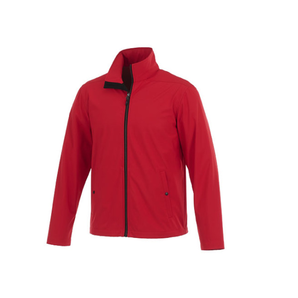 Karmine private label softshell heren jas