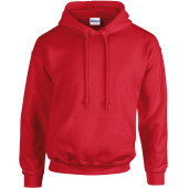 Heavy blend™ classic fit adult hooded sweatshirt red xxl