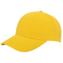 Turned Brushed Cap Geel acc. Geel
