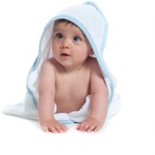 Babies' hooded towel