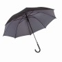 "Autom.Stickumbrella""Doubly""black/grey"