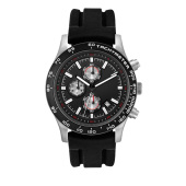 Horloge Melbourne race chrono black